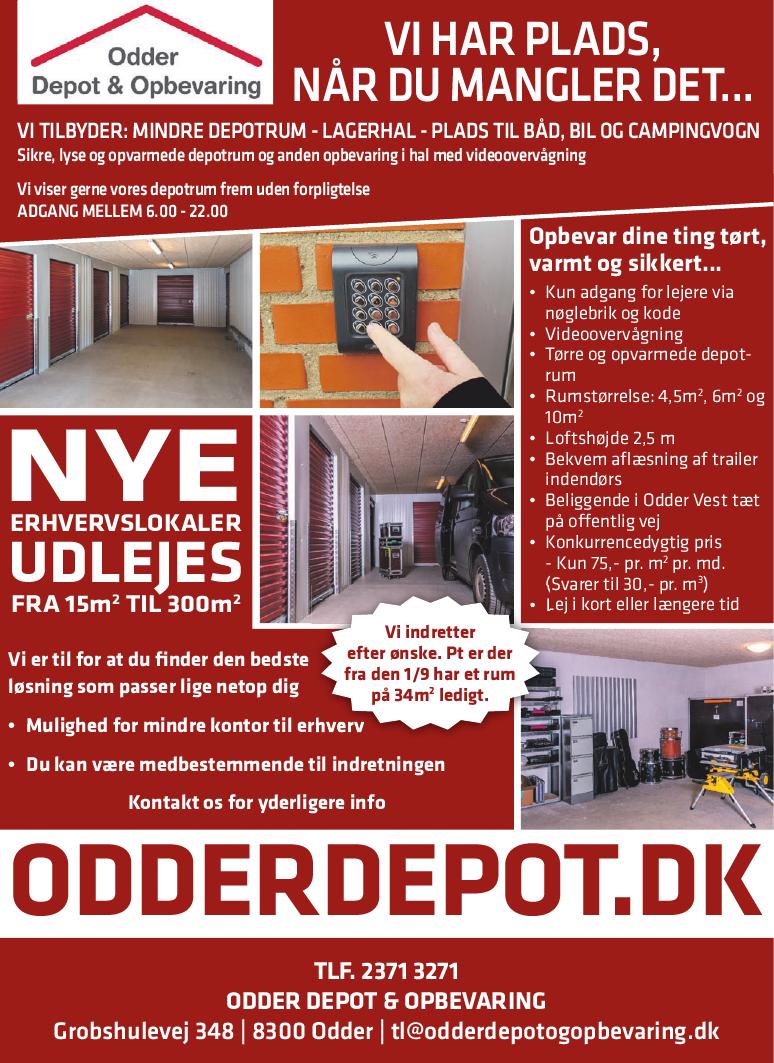 Picture of: Odder Depot Opbevaring E Profil