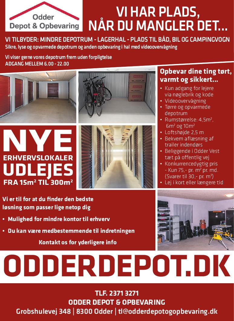 Odder Depot Opbevaring E Profil